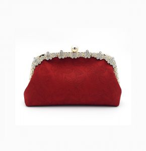 Duchess Vintage Silk Clutch