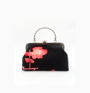 Pink Ume Vintage Kimono Silk Handbag